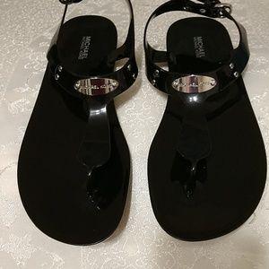 Michael Kors flat Sandals Black sz.10M